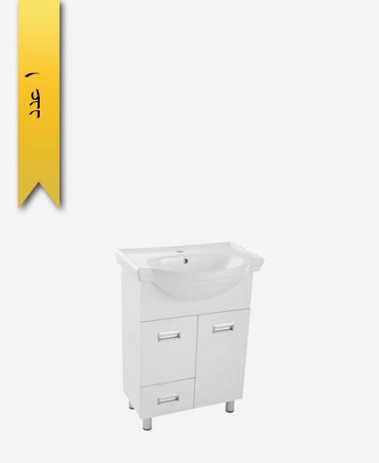 کابينت کشودار دستشویی کد 208 مدل کاسنو سایز 62 - سنی پلاستیک