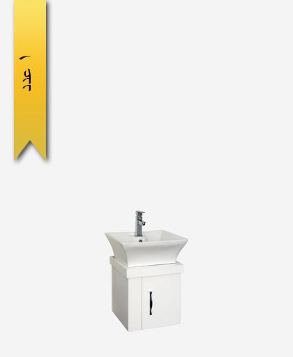 کابينت دستشویی کد 8155 مدل پونزا سایز 50 - سنی پلاستیک