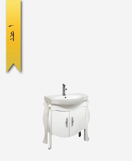 کابينت دستشویی کد 8154 مدل نوژان سایز 72 - سنی پلاستیک