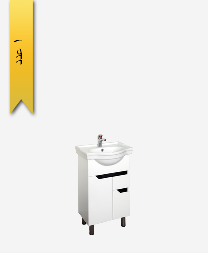 کابينت دستشویی کد 8156 مدل روزا سایز 50 - سنی پلاستیک