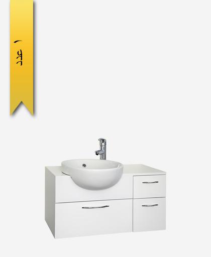 کابينت دستشویی کد 8157 مدل ناپولی سایز 80 - سنی پلاستیک