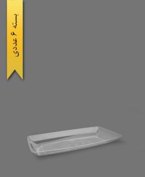 دیس الماس بزرگ شفاف - ظروف یکبار مصرف طب پلاستیک