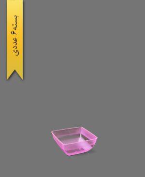 پیاله الماس 400cc صورتی - ظروف یکبار مصرف طب پلاستیک