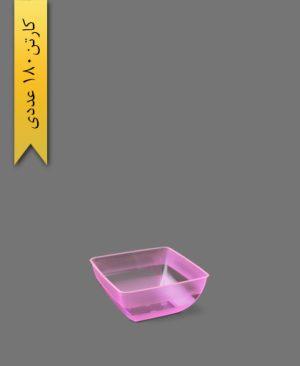 پیاله الماس 600cc صورتی - ظروف یکبار مصرف طب پلاستیک