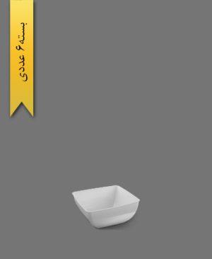 پیاله الماس 400cc سفید - ظروف یکبار مصرف طب پلاستیک