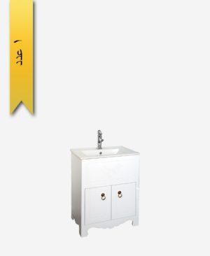 کابينت دستشویی کد 8152 مدل نيوشا سایز 62 - سنی پلاستیک