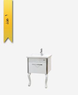 کابينت دستشویی کد 9252 مدل آرسا سایز 60 - سنی پلاستیک