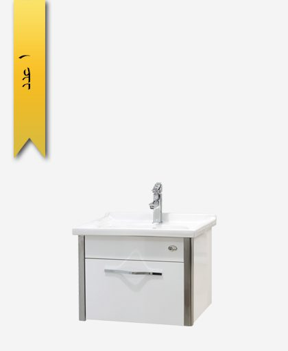 کابينت دستشویی کد 9253 مدل آرسا سایز 60 - سنی پلاستیک