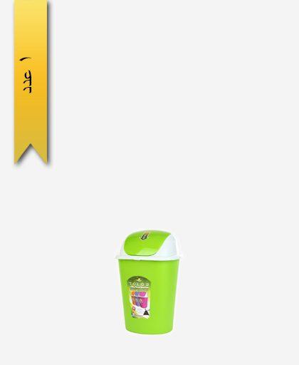 سطل پنگوئن متوسط کد 1019 سبز - طلوع پلاستیک