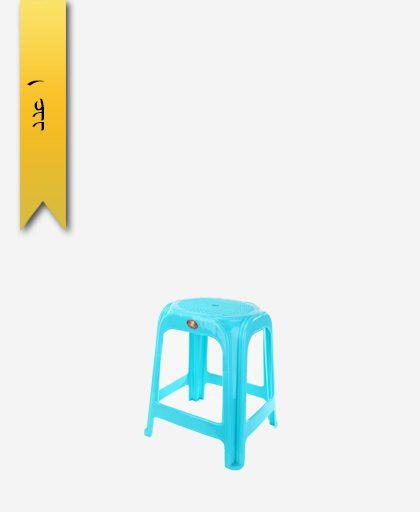 چهار پایه 47cm کد 1049 آبی - طلوع پلاستیک