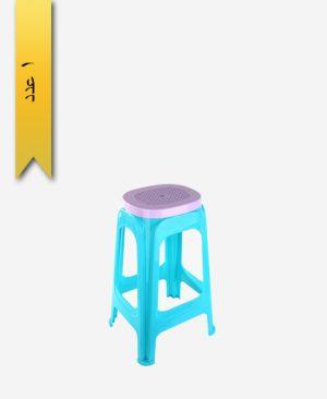 چهار پایه 70cm کد 1047 آبی دو رنگ - طلوع پلاستیک