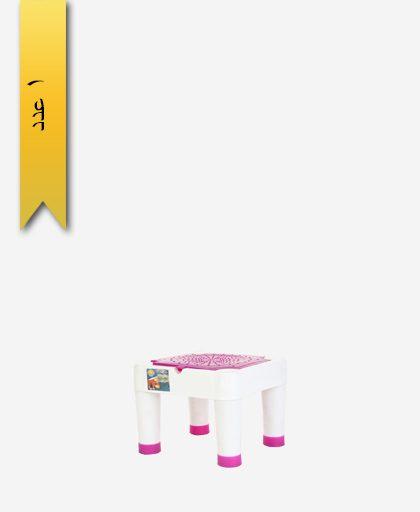 چهار پایه سروش کد 1053 سفید - طلوع پلاستیک