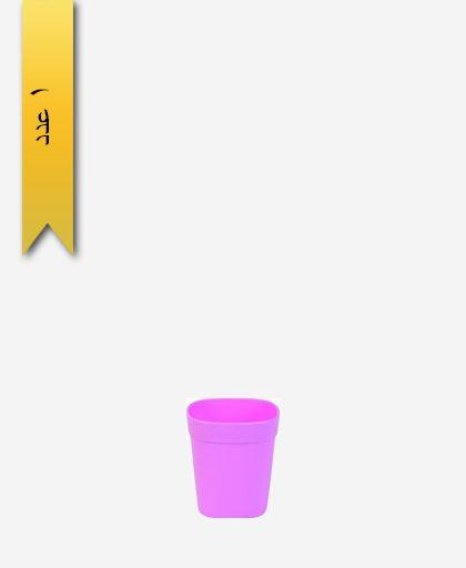 لیوان ملیکا کد 1124 صورتی - طلوع پلاستیک