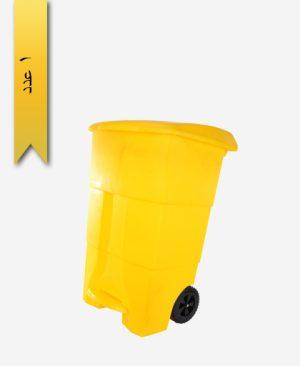 سطل خیابانی کد 1017 سبز - طلوع پلاستیک