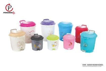 سطل پدالی - طلوع پلاستیک