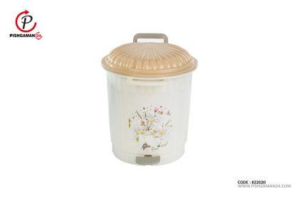 سطل پدالی کد 1022 متوسط - طلوع پلاستیک