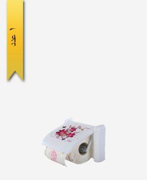 جا دستمال توالت کد 3005 گلدار - طلوع پلاستیک