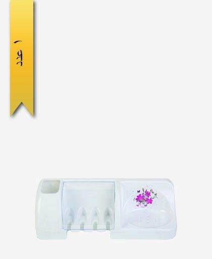 جا مسواکی کد 3014 ساده - طلوع پلاستیک