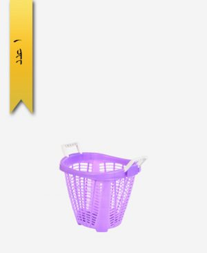 سبد لباس ملیکا کد 1008 دستهدار - طلوع پلاستیک