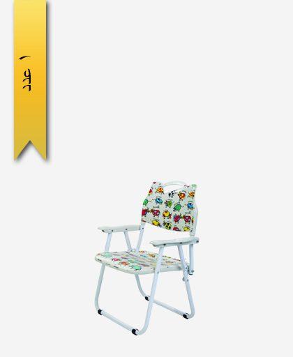 صندلی کودک تاشو کد 1118 پایه فلزی دستهدار - طلوع پلاستیک