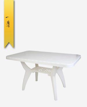 میز مستطیل 80×130 کد 1039 دو طبقه - طلوع پلاستیک