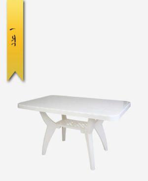 میز مستطیل 70×110 کد 1040 دو طبقه - طلوع پلاستیک