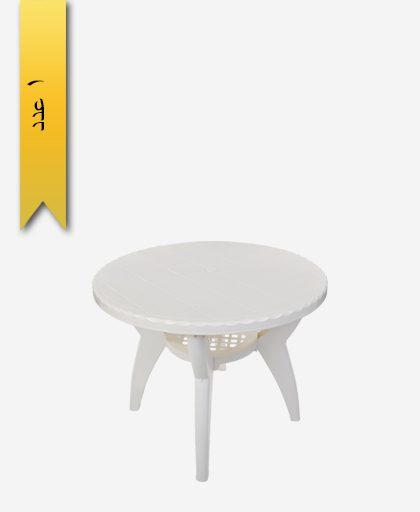 میز گرد 90 کد 1042 دو طبقه - طلوع پلاستیک