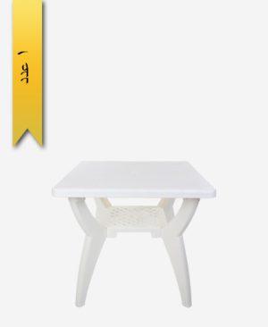 میز مربع 80×80 کد 1043 دو طبقه - طلوع پلاستیک