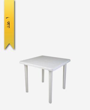 میز مربع 80×80 کد 1046 طلوع پلاستیک