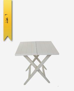 میز مربع تاشو 70×70 کد 1044 - طلوع پلاستیک
