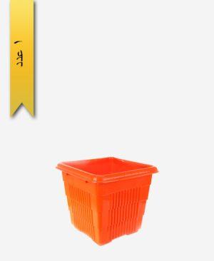 گلدان چهار گوش کد 2007 بدون زیره - طلوع پلاستیک