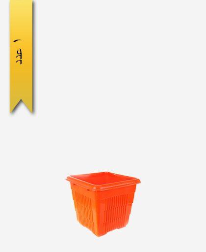 گلدان چهار گوش کد 2058 بدون زیره - طلوع پلاستیک