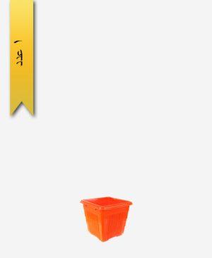 گلدان چهار گوش کد 2056 بدون زیره - طلوع پلاستیک