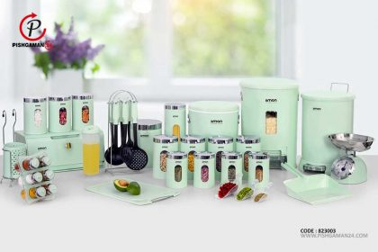 سرویس جهیزیه آشپز خانه 37 پارچه کد 1270 - لیمون