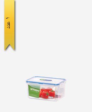 ظرف فریزری 1/1litre مستطیل کد 812 - لیمون