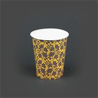لیوان کاغذی گلاسه طرح 1 – بلوط سبز (بسته 50 عددی)