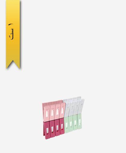 گیره رخت 16 تایی کد 1466 - لیمون
