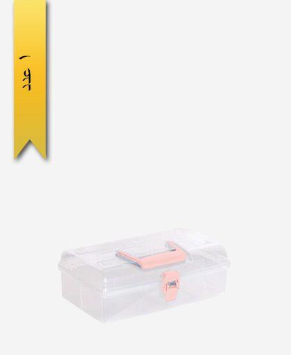 جعبه مستطیل سایز 1 کد 1352 - لیمون