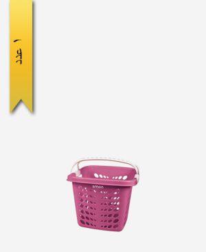 سبد رخت دستهدار کد 034 - لیمون