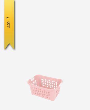 سبد رخت مستطیل کوتاه کد 1162 - لیمون