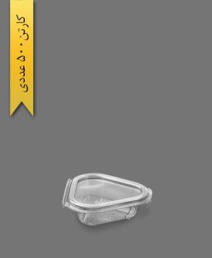 ظرف سسی مثلثی - ظروف یکبار مصرف تاک واریان