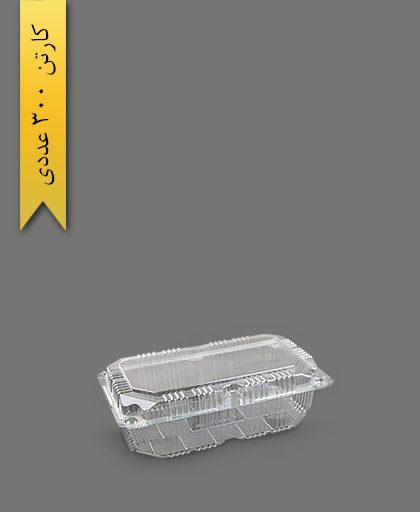 لانچ باکس بلند - ظروف یکبار مصرف ام جی