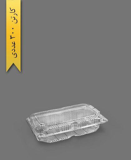 لانچ باکس کوتاه - ظروف یکبار مصرف ام جی