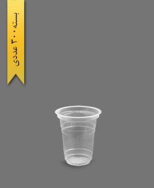 لیوان 350 شفاف - ظروف یکبار مصرف تمیزی