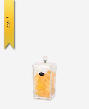 بانکه حبوبات اکریلیک سایز 1 کد 1414 - لیمون