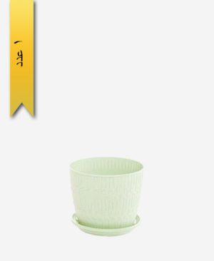 گلدان بامبو گرد سایز 3 کد 1636 - لیمون