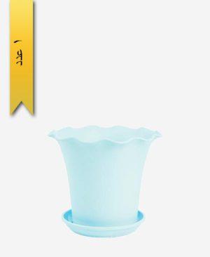 گلدان ساحل گرد سایز 1 کد 1640 - لیمون