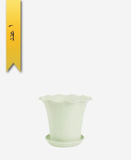 گلدان ساحل گرد سایز 3 کد 1644 - لیمون