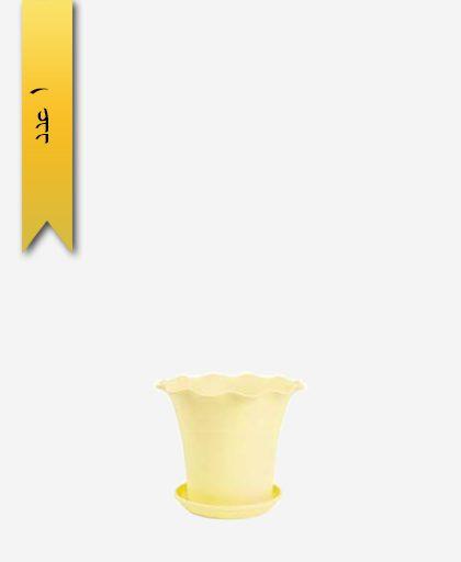 گلدان ساحل گرد سایز 5 کد 1648 - لیمون