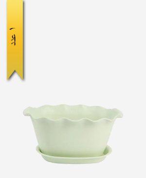 گلدان ساحل دسته دار سایز 1 کد 1660 - لیمون